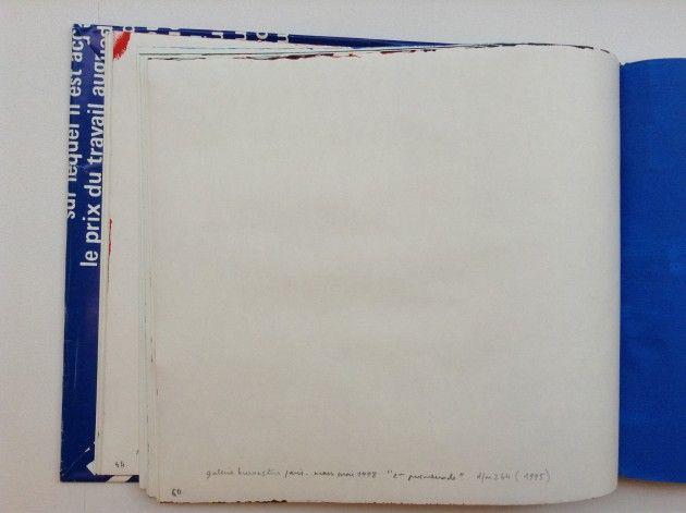 Claude Rutault // Album repeint n°3