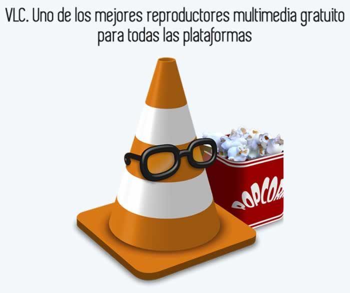 VLC es el reproductor que soporta prácticamente todos los archivos de audio, video, subtítulos, teletexto y subtítulos adicionales, en todas las plataformas de escritorio y móviles. #reproductormultimedia