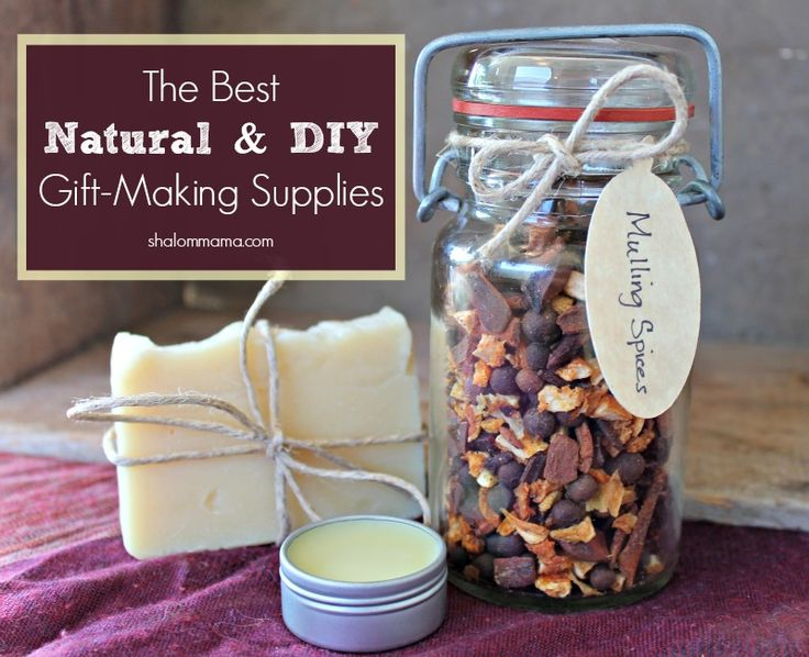 The Best Natural & DIY Gift-Making Supplies