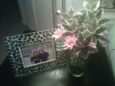 origami money flowers bouquet