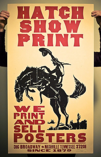 16 Best Hatch Show Print Images On Pinterest Country
