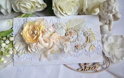 Вдохновение: Свадебные конверты из BeeShabby и красивая свадьба