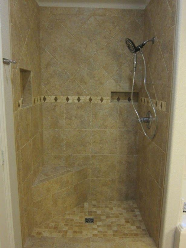 13 best images about bathroom on pinterest wooden for Master bathroom walk in shower designs
