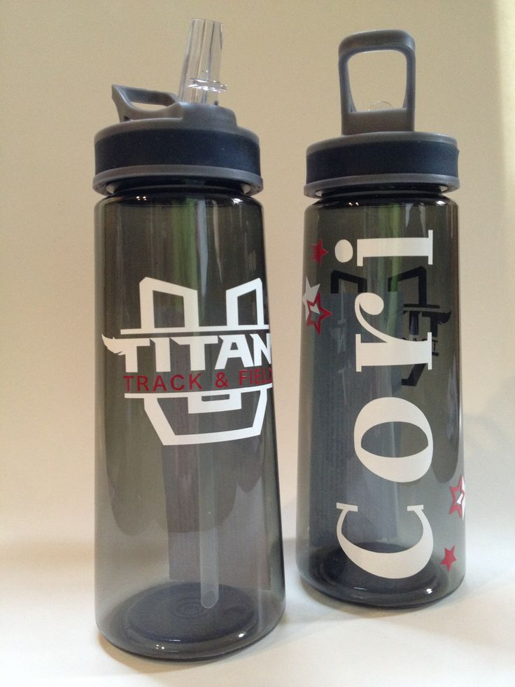 Personalized Team Track  Field water bottles