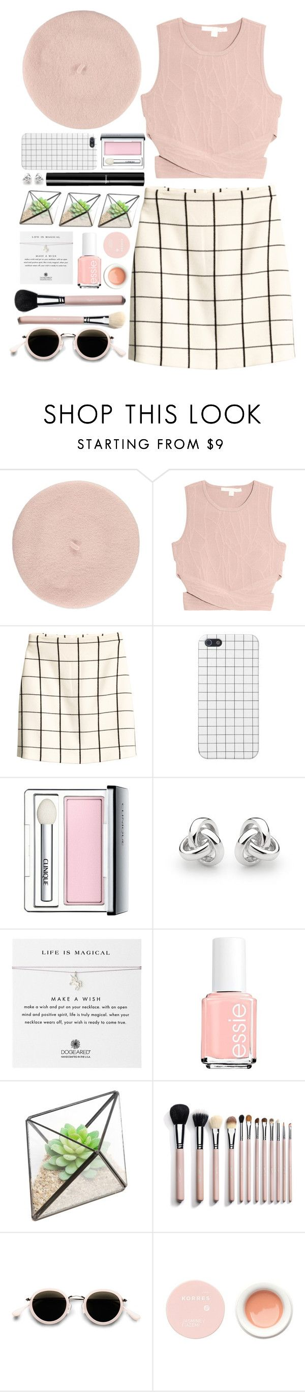 """""""#718 Diane"""" by blueberrylexie ❤ liked on Polyvore featuring Forever 21, Jonathan Simkhai, H&M, Clinique, Chanel, Georgini, Dogeared, Essie, Acne Studios and Korres"""