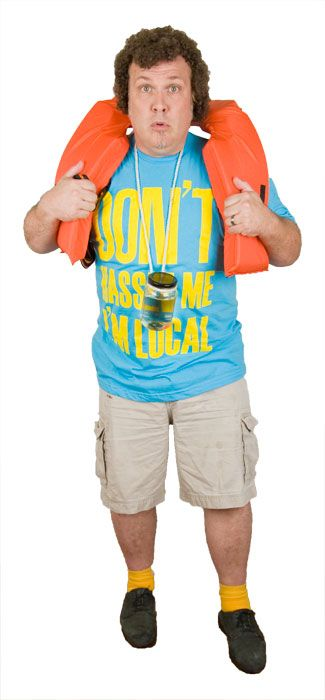 Bob Wiley What About Bob? - Don't Hassle Me I'm Local T-Shirt - 80's Movie Costumes