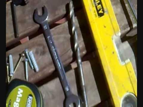 Teja, como restaurar una teja antigua en un aplique de luz