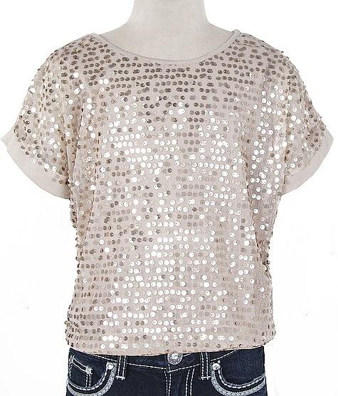 Girls-Sequin Top #fashion #buckle www.buckle.com