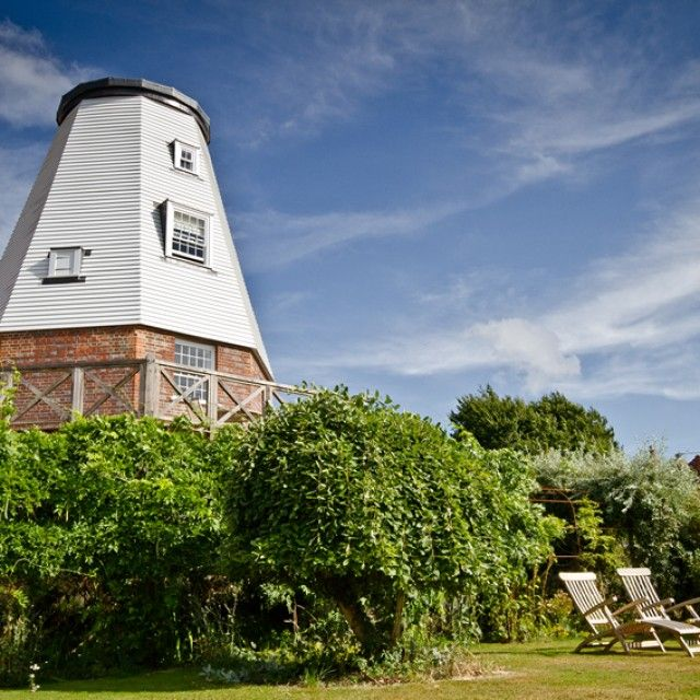 Old Smock Windmill, Kent This four-storey mill dates back to the early 1800s. It has stunning views across the Wealden landscape, just 14 miles from the coast with scores of National Trust properties nearby. Sleeps two.