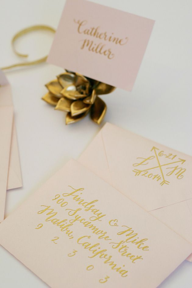 DIY Calligraphy For Your Wedding 105 best
