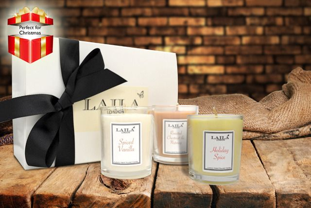 3-Piece Candle Gift Set