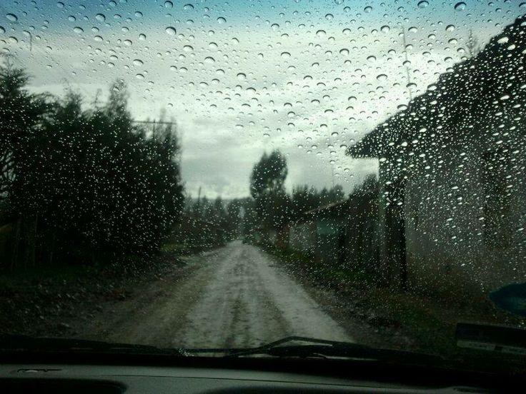 lluvia...