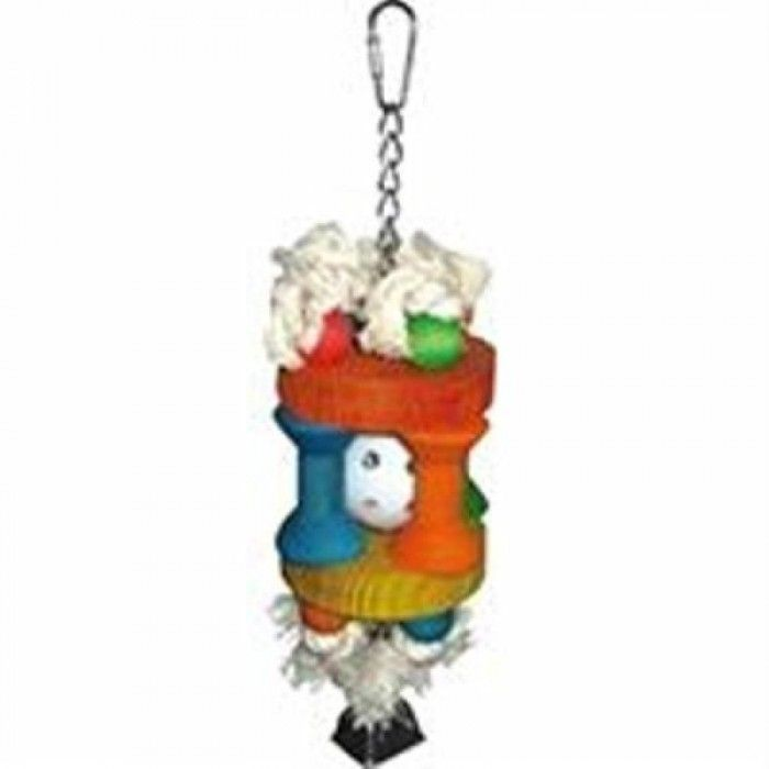 Wiffle Ball in Solitude Bird Toy HB46341  Looking for Products for birds like bird toys and cages? Check this one with a special deal of discount only for you. Wiffle Ball in Solitude Bird Toy HB46341 by A&E CAGE Co