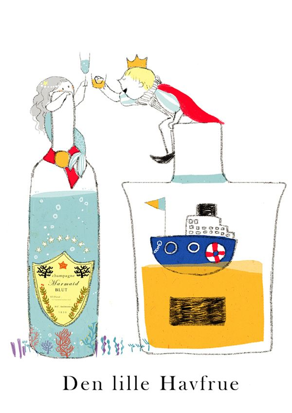2013 illustrations by ももろ ももろ, via Behance
