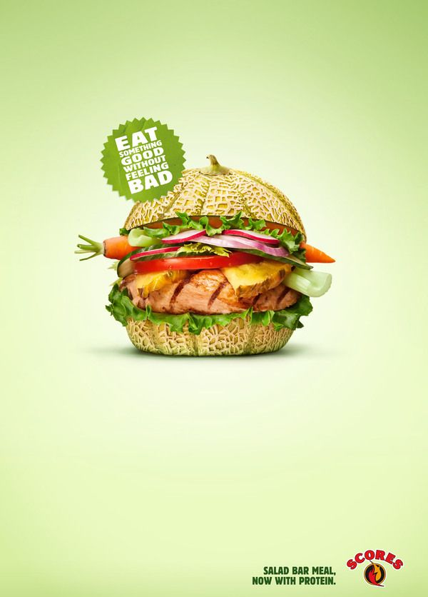 The Perky Side of Food Advertising: 20 Creative and Eye-Catching Restaurant Ads | inspirationfeed.com