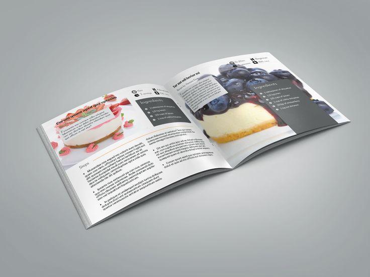 Recipe Book Template – 7x7in