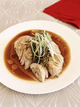 white-cooked chicken with soy and ginger dressing by kylie kwong  has now become part of our christmas lunch