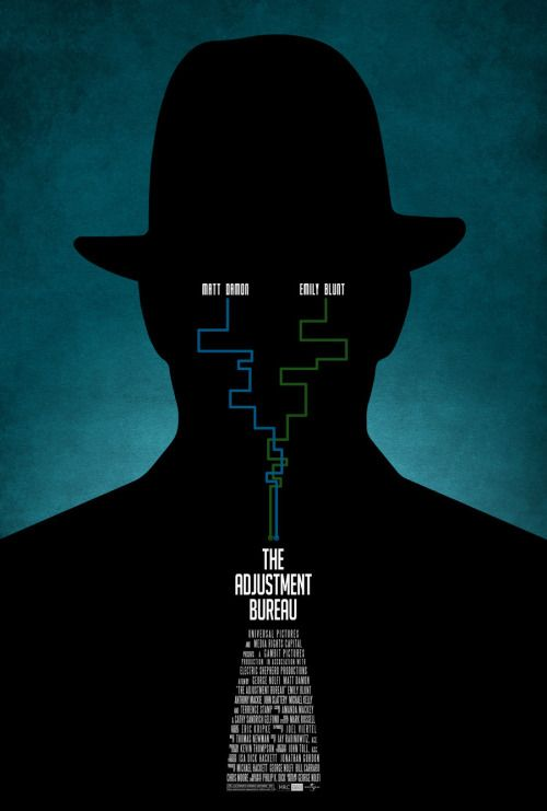 The Adjustment Bureau poster by ~drMIERZWIAK