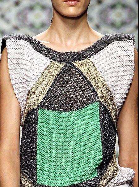 Knitwear, sweater, Aztec, Tribal, Boho, fashion, style, trend. Block colour.