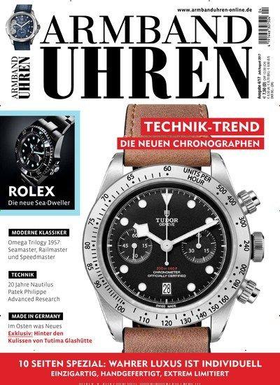 Technik-Trend - Die neuen Chronographen Jetzt in Armbanduhren, das Magazin für Freunde und Sammler hochwertiger mechanischer Armbanduhren