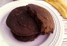Pancakes au chocolat et banane à 1 SP