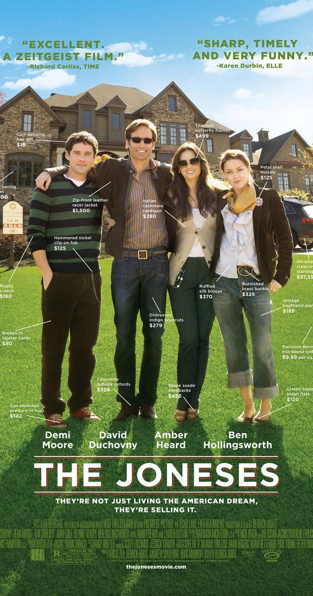 Directed by Derrick Borte.  With Demi Moore, David Duchovny, Amber Heard, Benjamin Hollingsworth. A seemingly perfect family moves into a suburban neighborhood, but when it comes to the truth as to why they're living there, they don't exactly come clean with their neighbors.