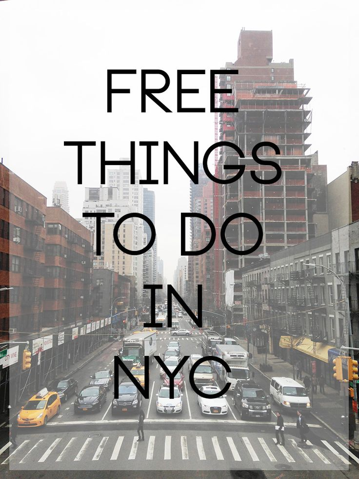 50+ Free Things to do in NYC