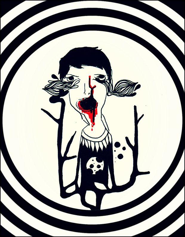 Para ella, él es como un niñato de mamá, de esos que se pican la nariz cuando están aburridos. Educado, entre otras cosas, para ser atendido, malcriado, engreído, caprichoso, un bebé llorón. Él tiene los ojos de quien ...   Texto de Érika Anallely   Ilustración de Agustín Ceiklosv