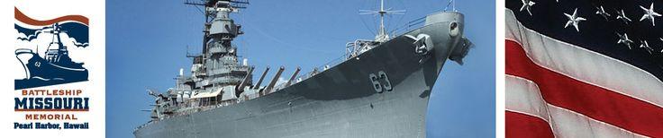 Battleship Missouri Memorial.