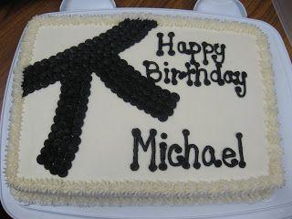 karate birthday cake   Cakes By Nichole: Black Belt Karate Cake