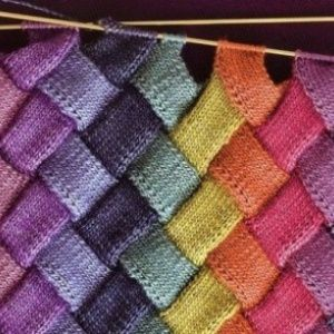 Техника плетёного вязани…