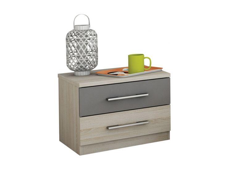 MAYA Sängbord 50 Ek i gruppen Inomhus / Sängar / Sängbord hos Furniturebox (100-56-72973)