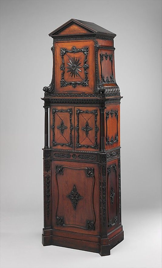 Medal cabinet Attributed to William Vile  (British, Somerset 1700/1705–1767 London)