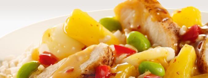 Ananászos csirkemell rizzsel | Nőivilág.hu