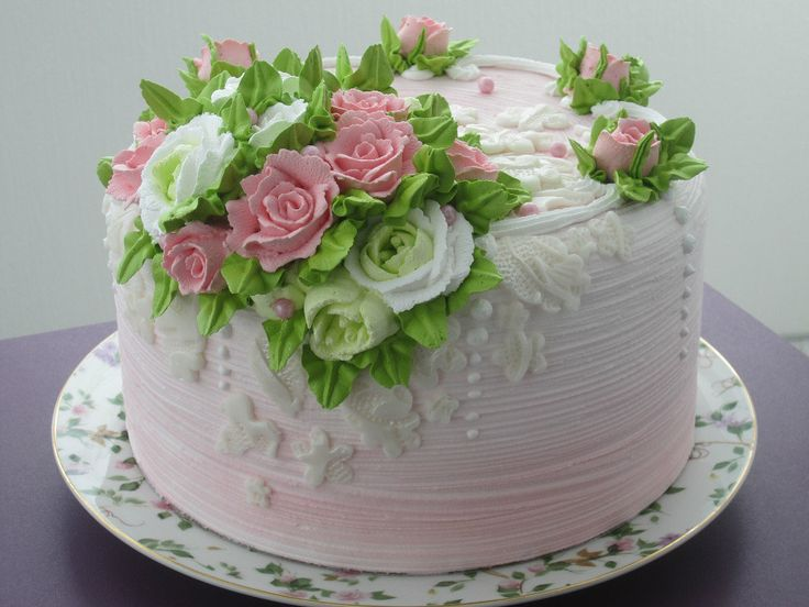 Cake Designs With Buttercream Icing : 1000+ ideas about Buttercream Cake Designs on Pinterest ...