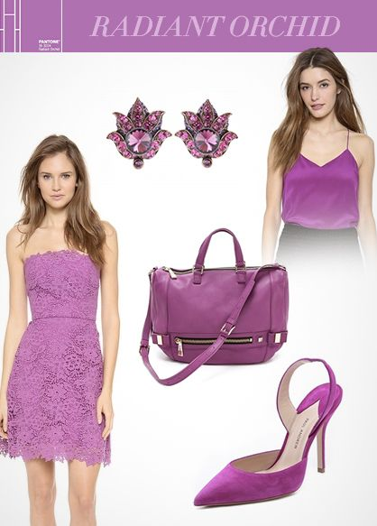 Spring 2014 Color Trend: Radiant Orchid