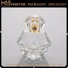 Wholesale 50ml empty crystal perfume bottle,empty glass perfume bottle