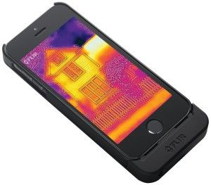 Cool Spy Gadgets: FLIR ONE Thermal Imager for iPhone 5/5s