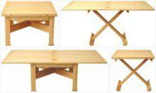 mesa de centro elevable y extensible