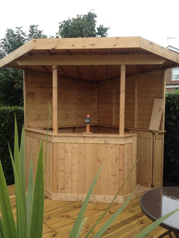 Garten bar  für Gartenecke von shedking