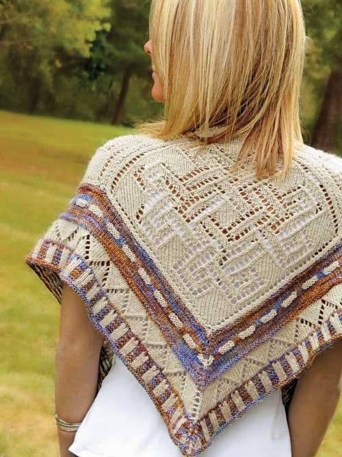 High Chaparral Shawl Knitting Pattern | Patternworks
