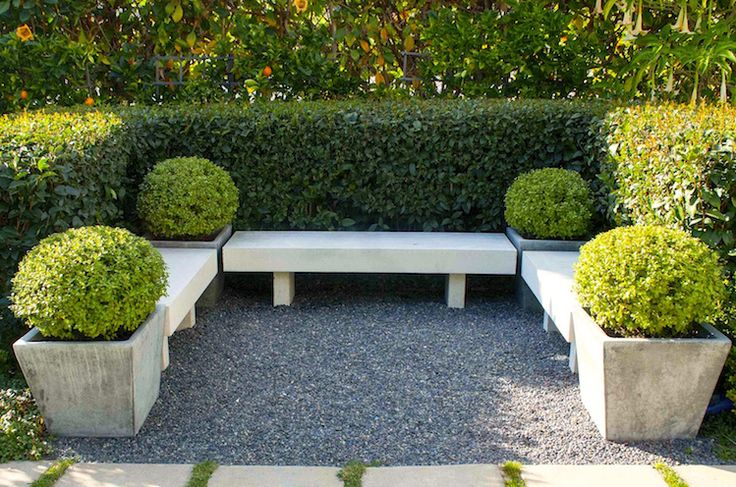 The Influence of Modernism on Small Space Gardens