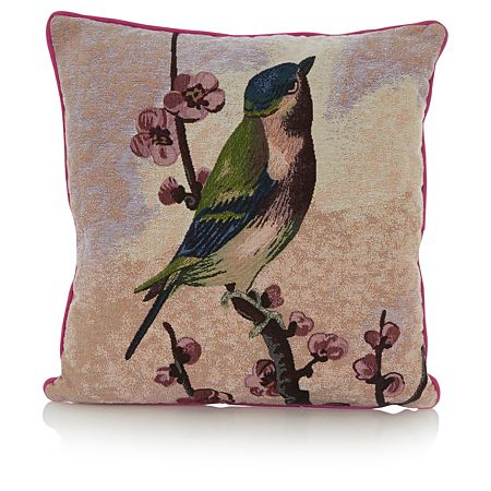 lovely bird cushion