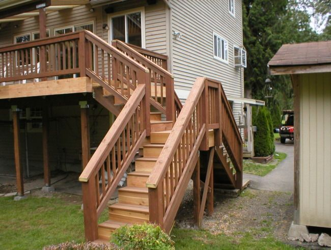 Staris Split Photo Gallery Gt More Decks Gt Stairs With