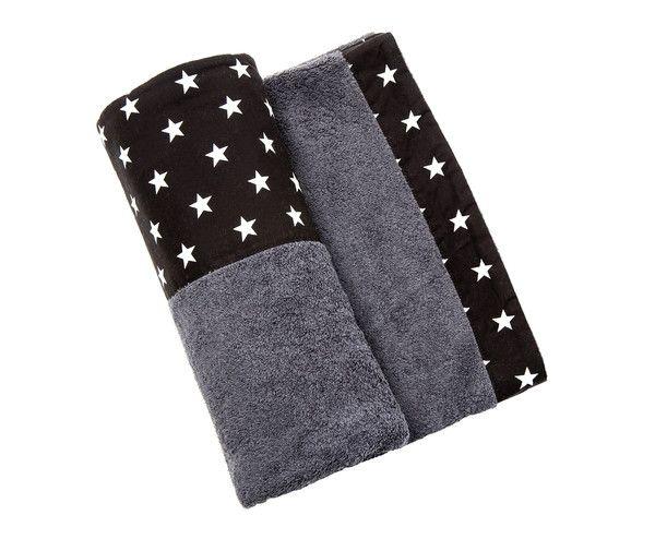 Starfish - Black Towel