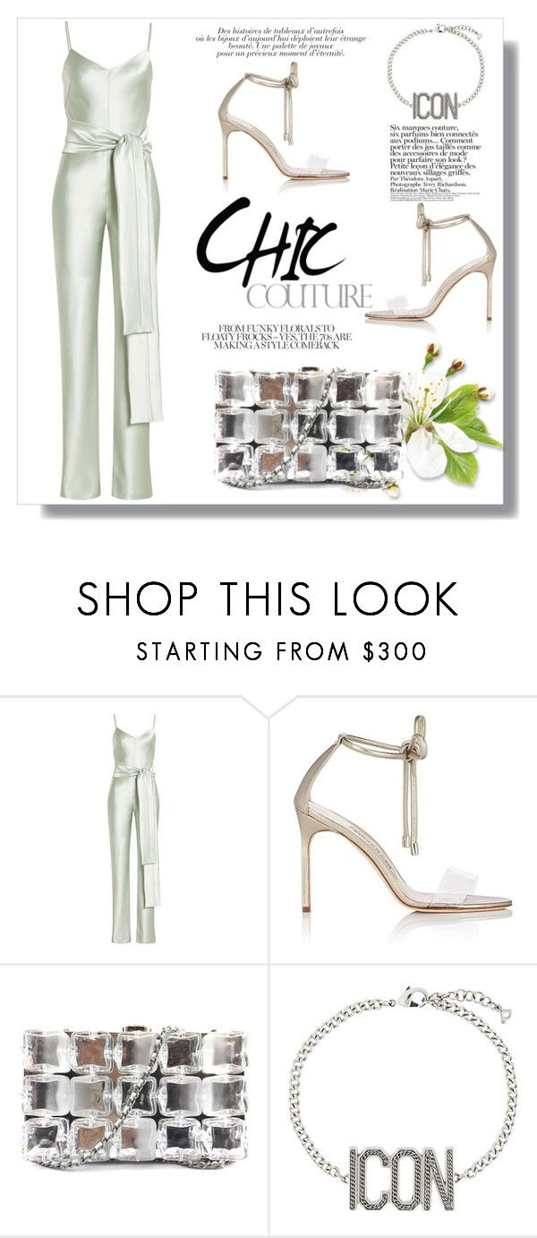 """""""30 de Febrero."""" by lucas-lucas-c ❤ liked on Polyvore featuring Galvan, Manolo Blahnik, Chanel, Dsquared2 and Anja"""