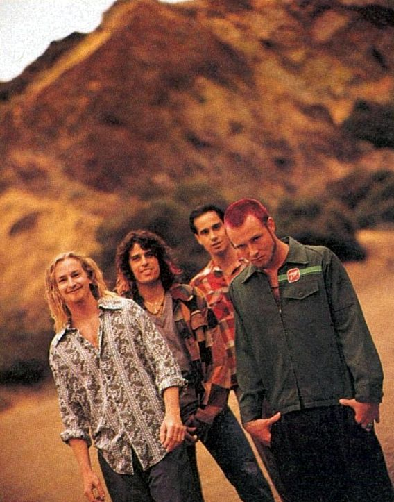 I will get autographs from every member of Stone Temple Pilots.