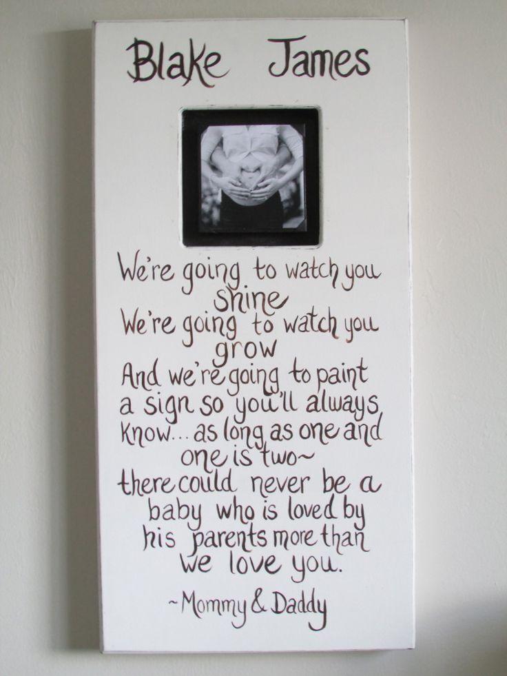 Project Nursery - Gray Baby Boy Nursery Wall Art