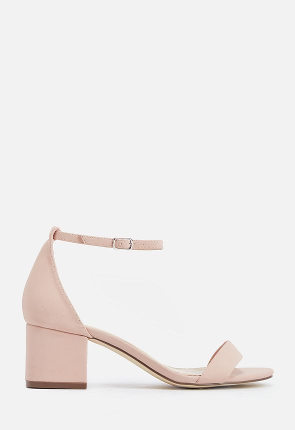 All the sex appeal of a high heeled sandal but the comfort of a wear-all-day style. With a short block heel you can wear these chic and minimal sandals all day or night!...