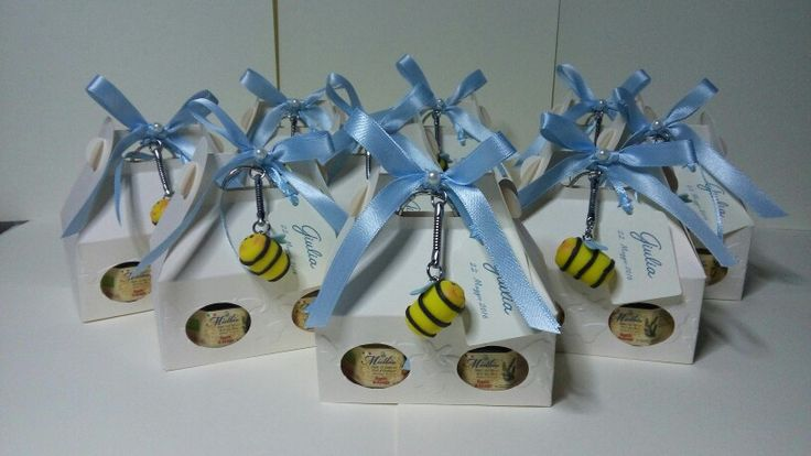 Bomboniere cresima vasetti miele
